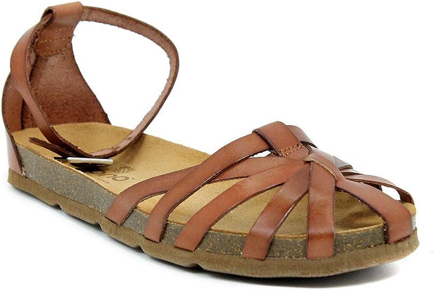 e43f0aa4f Yokono Women s Villa Vaquetilla Sling Back Sandals