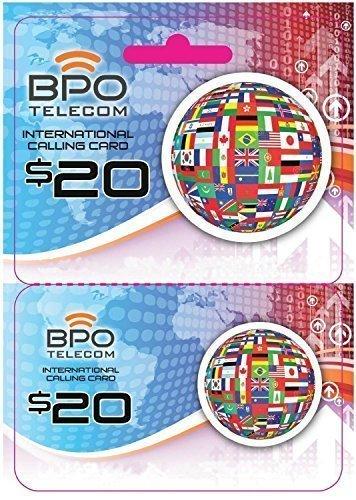 $20 International Rechargeable Calling Card No Hidden Fees