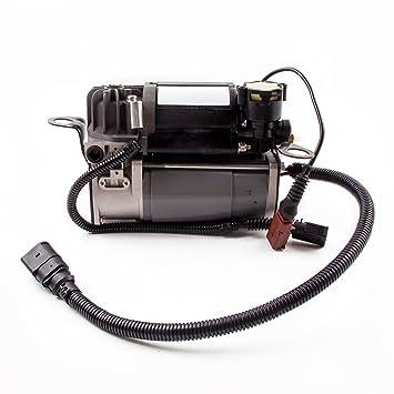 maXpeedingrods Bomba de Aire Compresor Suspensión Neumática para A8 D3 4E Wabco 4E0616007C/5E: Amazon.es: Coche y moto