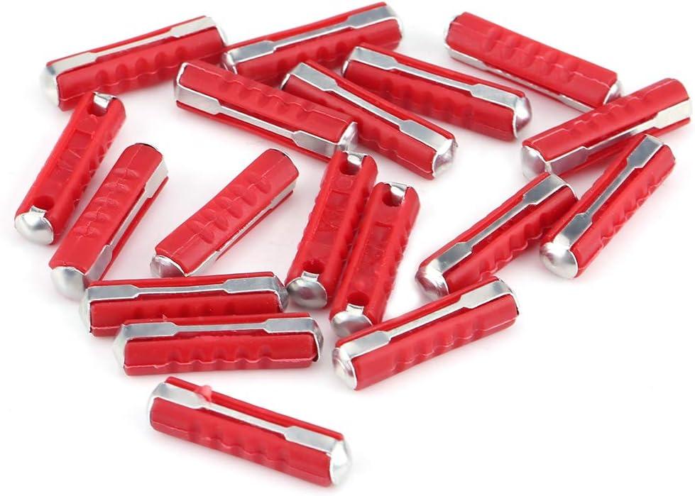 Wacent Fusible de Voiture Accessoire Automatique Durable Partie 200 pi/èces Kit dassortiment de fusibles de Voiture en Forme de torpille Multicolore pour Voitures europ/éennes de Style Ancien