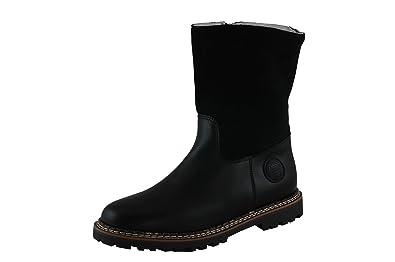 bieten Rabatte ungleich in der Leistung riesiges Inventar Ammann Damen Winterstiefel Crans schwarz Leder/Velourleder ...