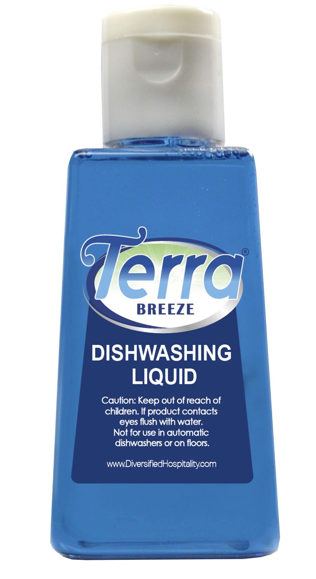 Terra Breeze Tiny Dish Soap Detergent, 1.6 oz (Case of 144)