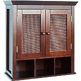 Wall Cabinet, Bathroom, Medicine,Adjustable Shelves, Wood