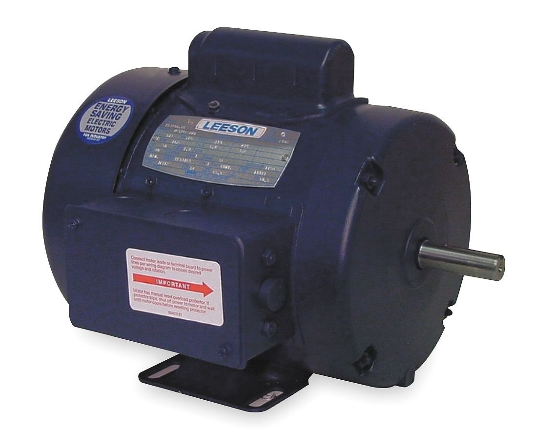 48 Frame Leeson 102688.00 Special Voltage Motor 1//3HP 1500 RPM 50Hz Fequency C4T14FB5A 220//380//440V Voltage Rigid Mounting 3 Phase