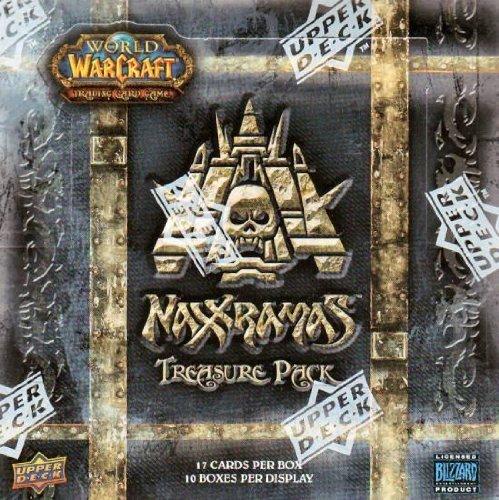 World of Warcraft Naxxramas Treasure Pack Box (Tcg Loot Card Mount)