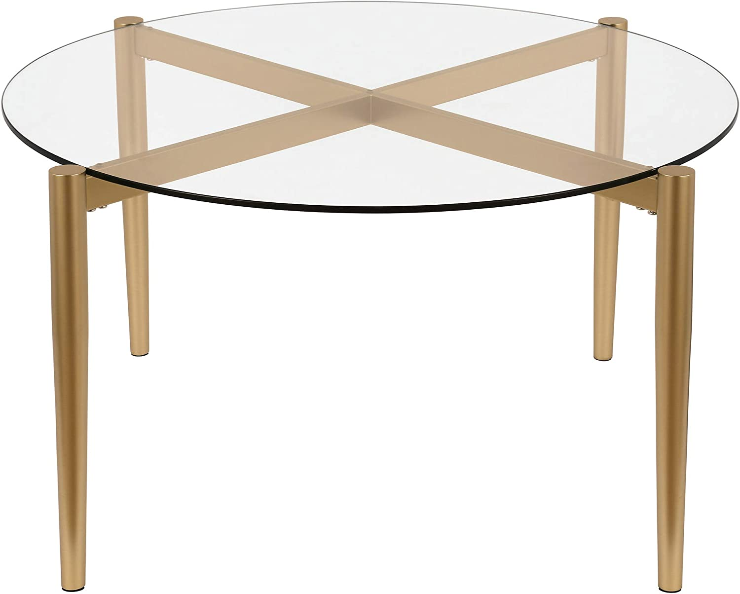 Henn&Hart Coffee Table, One Size, Gold