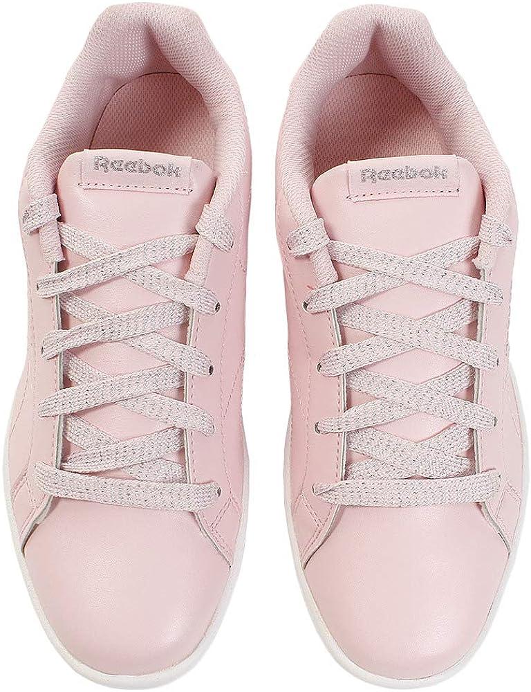 Reebok Jungen Royal Complete CLN Fitnessschuhe Mehrfarbig Pastel Practical Pink White Silver 000