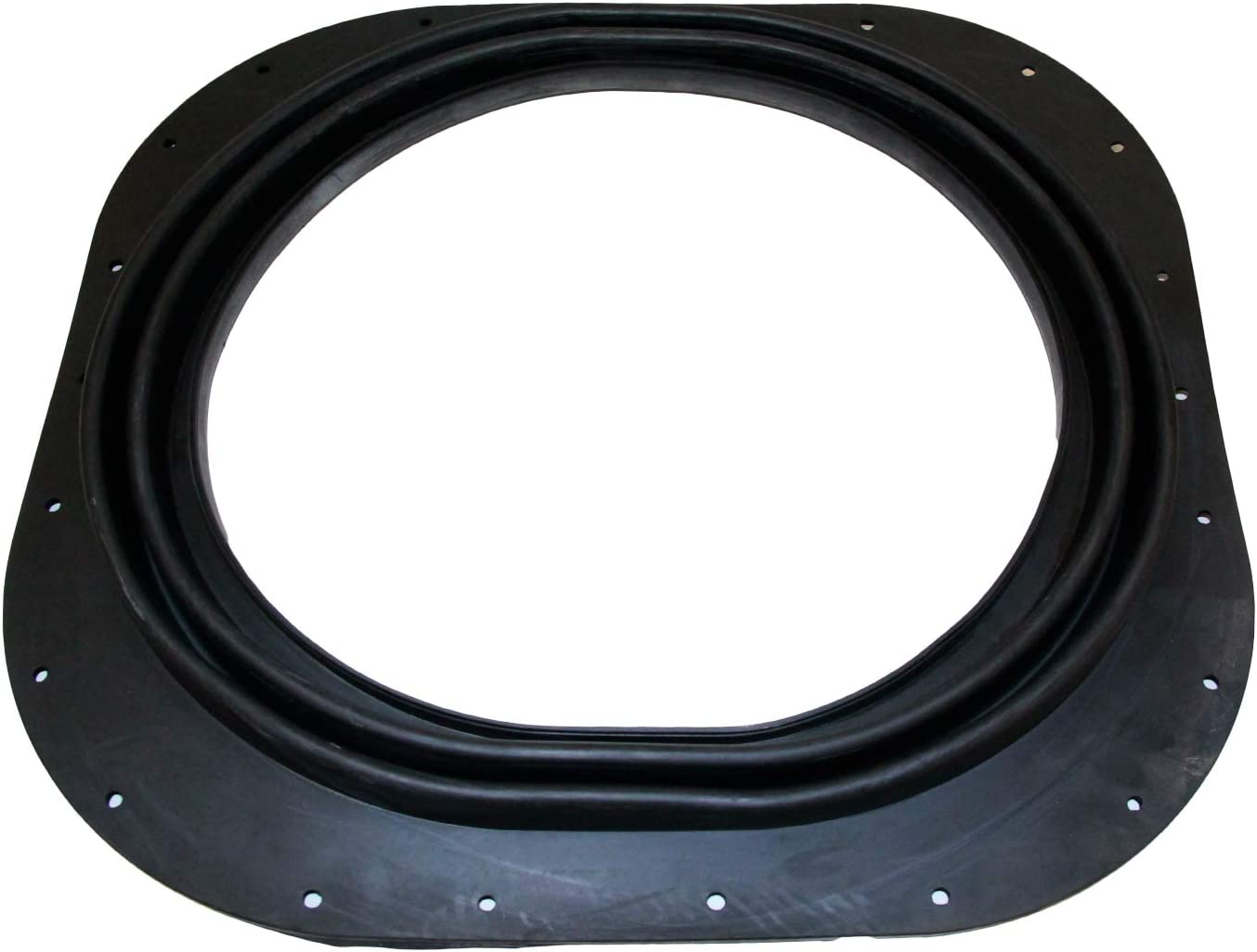 MTC 50038 / 909527 Transom Seal 22 Holes fits 1978-1986 OMC Stringer Sterndrive,Black
