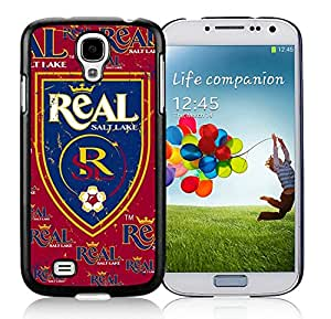 Fashionable And Antiskid Designed MLS Real Salt Lake Samsung Galaxy S4 I9500 i337 M919 i545 r970 l720 Case Cover 13 Black