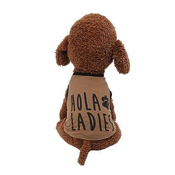 T.boys - Chaleco para Mascotas, Camiseta para Perros, Ropa de ...
