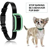 MASBRILL Dog Bark Collar Safe No Bark Control Device for Tiny Small Medium Dog Stop Barking by Sound and Vibration No…