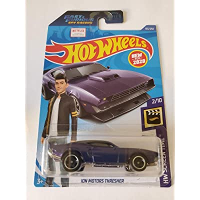 Hot Wheels 2020 Fast & Furious Spy Racers Hw Screen Time ION Motors Thresher, Purple 133/250: Toys & Games