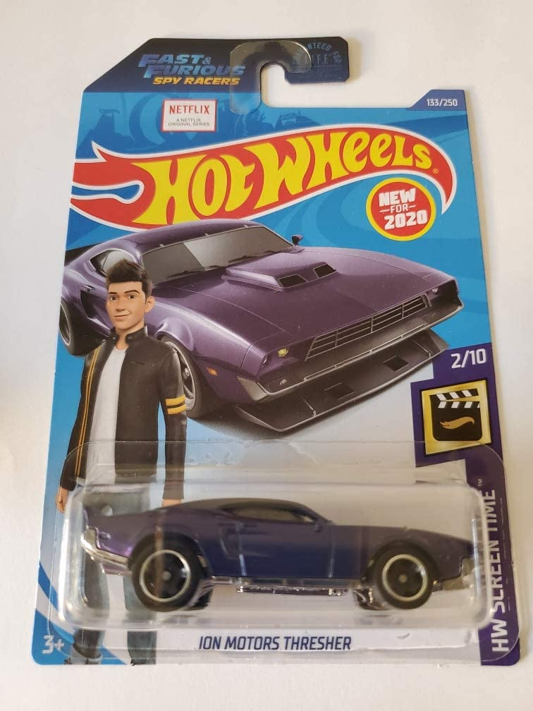 Hot Wheels 2020 Netflix Series Fast /& Furious Spy Racers Complete Set of 4