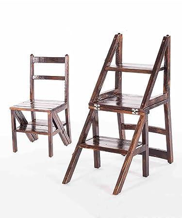 Trittleiter Holz amazon de zengai stuhl leiter hockerleiter tritt kleine leiter
