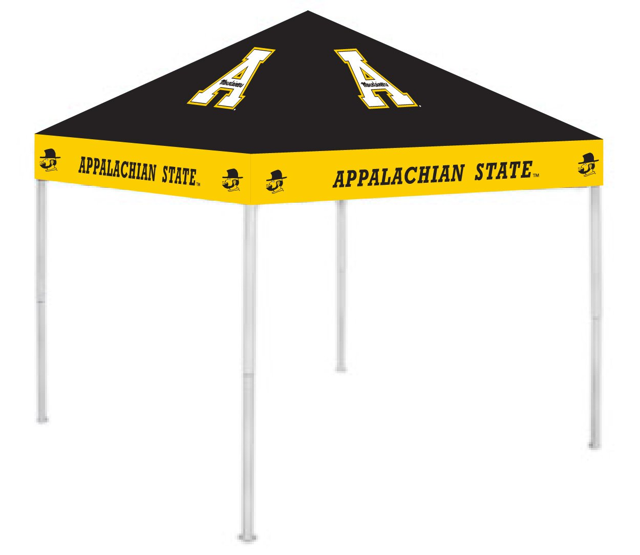 Rivalry RV108-5000 Appalachian State Canopy B003XKF0F4 9 x 9|Appalachian State Mountaineers Appalachian State Mountaineers 9 x 9