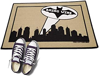 product image for Bring Wine bat Signal - HIGH COTTON Welcome Doormat