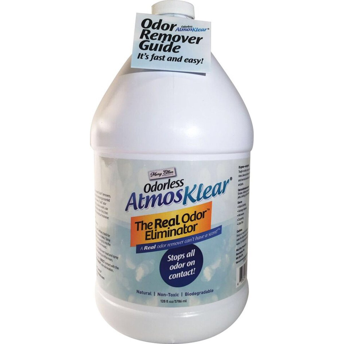 Amazon.com: Mary Ellen Products Atmosklear Odor Eliminator, 1 gallon ...