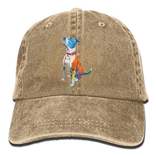Baseball Cap Crayons Dog - Adjustable Trucker Hat Cotton Denim, DanLive Crayons Dog - Crayon Dog