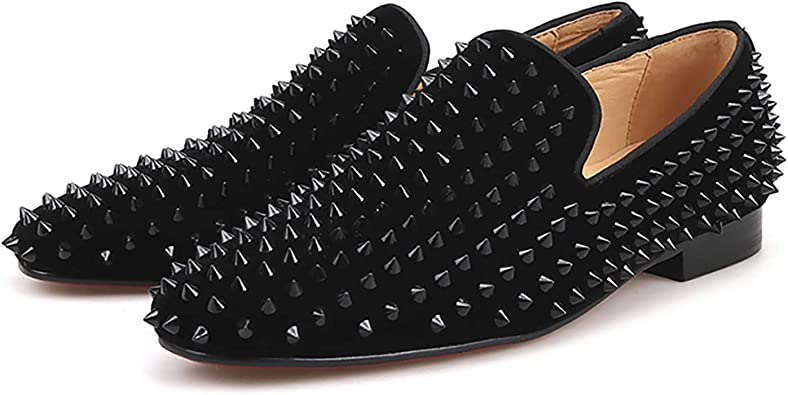 Amazon.com | HI\u0026HANN Men Velvet Shoes