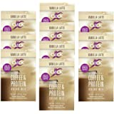 CLICK All-in-One Protein & Coffee Meal Replacement Drink Mix, Vanilla Latte, 10 Single Serving Packets (1.1 Ounce) (Vanilla L