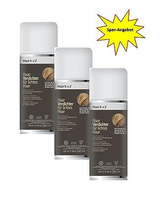 3 x hairfor2 pelo crecepelo Spray 100 ml (Rubio Medio): Amazon.es: Salud y cuidado personal