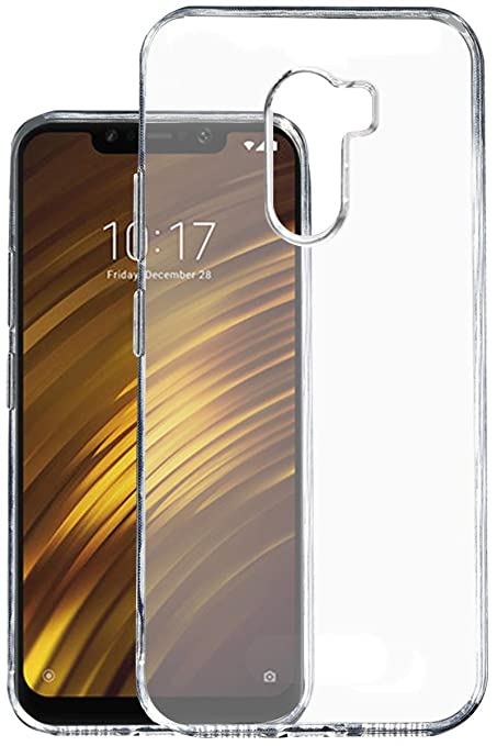 size 40 082d4 63830 Lofad Case Transparent Back Cover for Xiaomi Poco F1