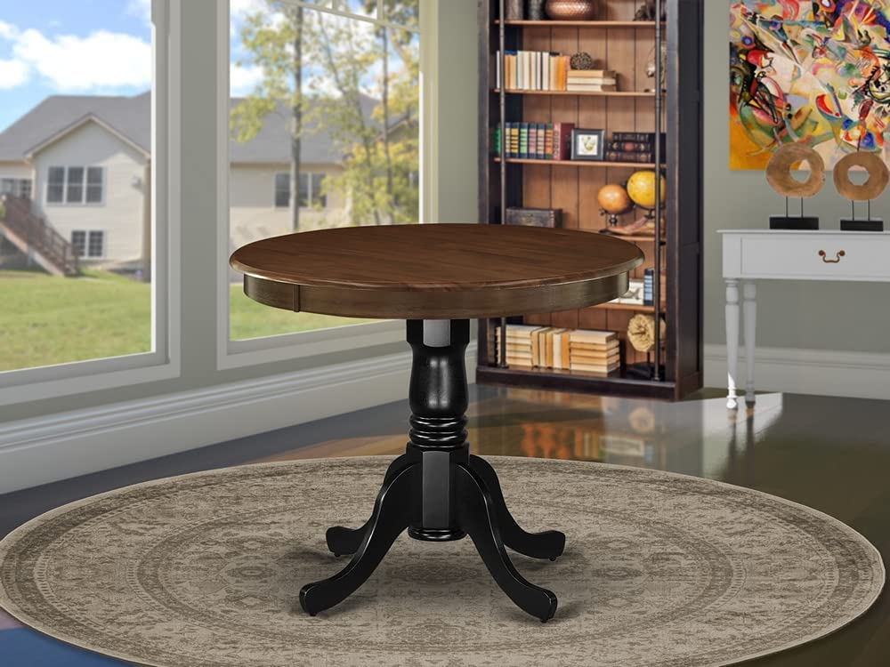 East West Furniture Dining Table, AMT-WBK-TP
