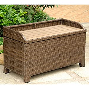 61EY7ZO42pL._SS300_ Wicker Benches & Rattan Benches