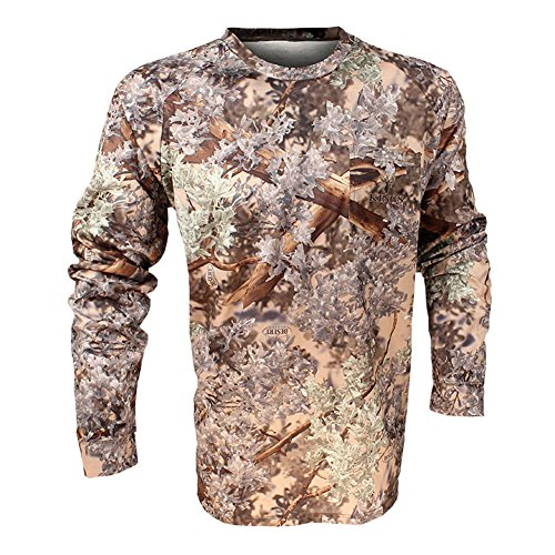 King's Camo Hunter Series Long Sleeve Tee, Desert Shadow, Medium ()
