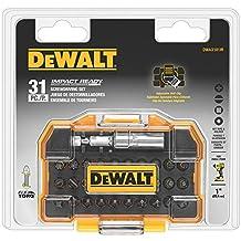 DEWALT 31 PC Impact Ready Bit Set with Flex Torq Compact Tough Case
