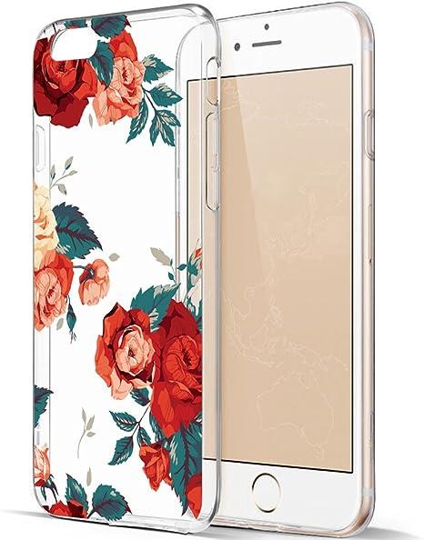 Cover iPhone 6S Cover iPhone 6 Custodia morbido Trasparente