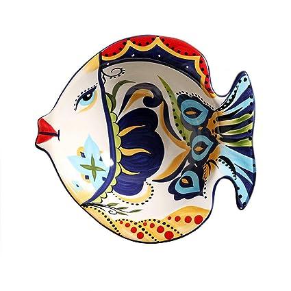 LI HOA SHOP Cuenco de cerámica Europeo Cubertería Creativa Cuenco de Sopa de Ramen Cuenco de