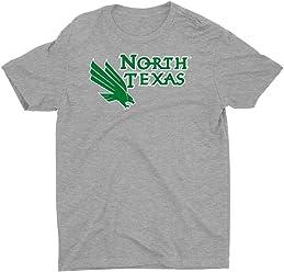 1709EL07 Mens//Womens Boyfriend Long Sleeve Tee Official NCAA University of North Texas Mean Green