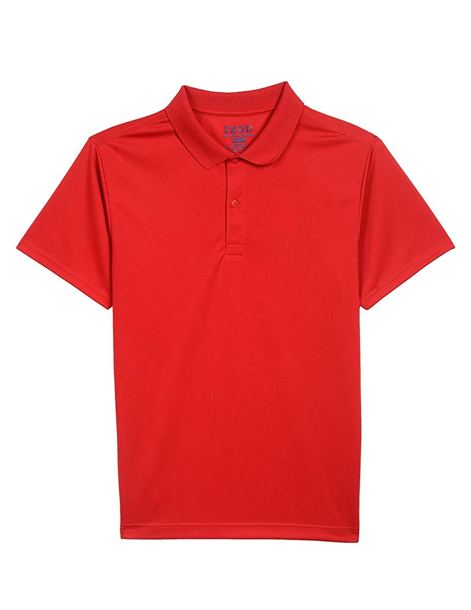 Izod Uniform Men's Short-Sleeve Performance Polo Shirt Z981227P