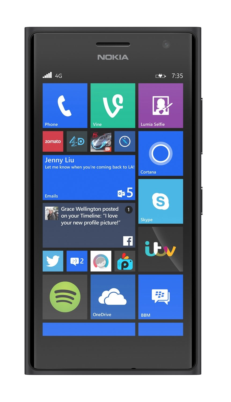 .Nokia Lumia 735 UK SIM-Free Smartphone - Grey (4.7-inch)