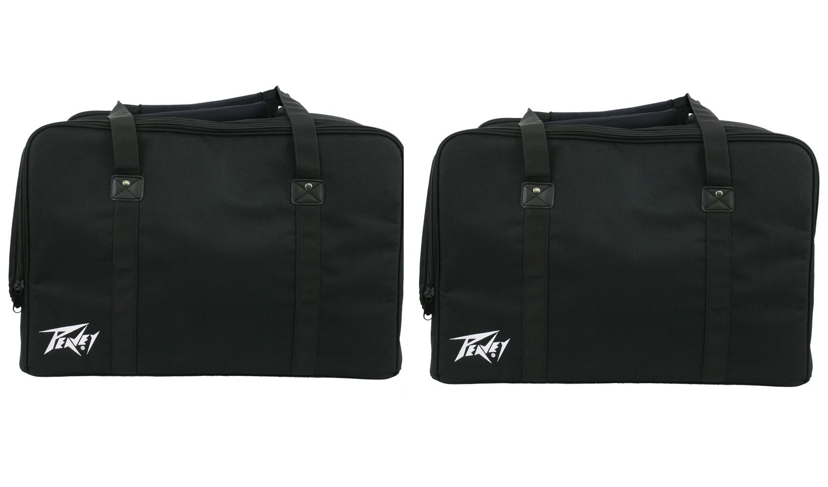 (2) Peavey Padded Carrying Bags for 12'' PA Speaker - PVX 12 PVXP 12 Impulse 12D Duffel Bag Style