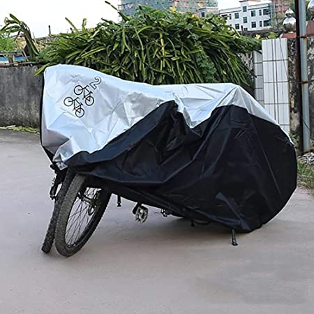 ZHAOK Funda para Bicicleta 190T Oxford Cubierta Impermeable de ...