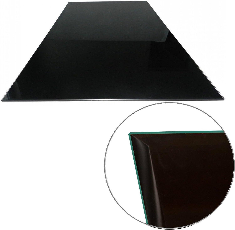 Kamin Bodenplatte 90x60cm klar 6mm Funkenschutz Tisch Glasscheibe Tischplatte