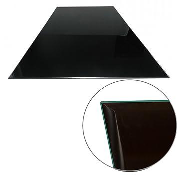Euro Tische Glasplatte Für Tisch Schwarz   Glasscheibe Mit 6mm ESG  Sicherheitsglas   Perfekt Geeignet Als