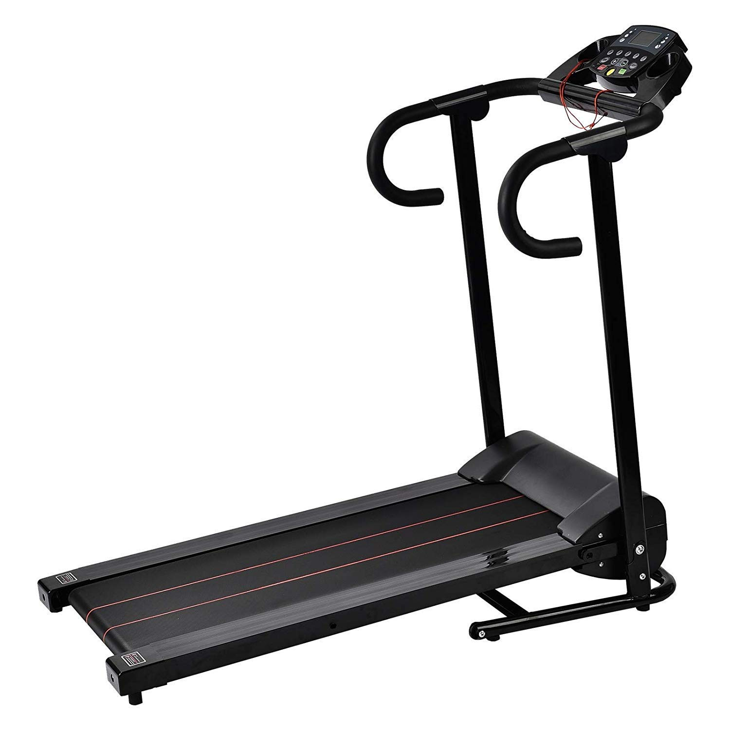 Murtisol 1100W Folding Treadmill Electric Walking Running Exercise Fitness Machine with LCD Display Easy Control Home Gym by Murtisol (Image #2)