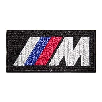 IRON-ON Bestickter Aufnäher BMW