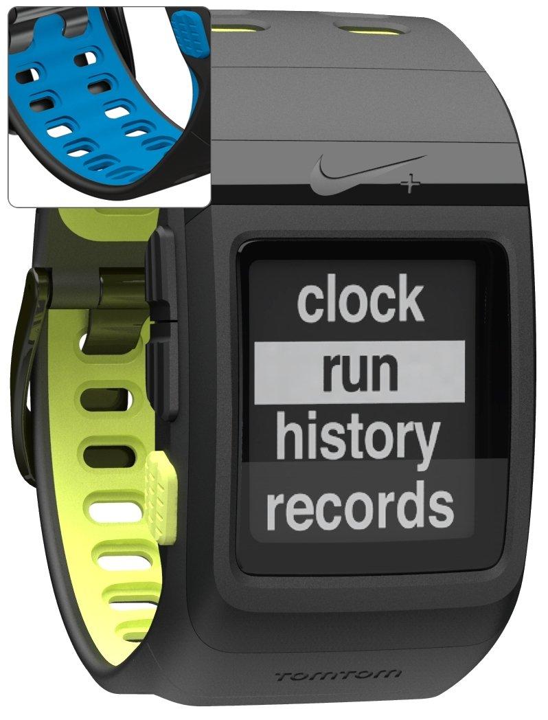 TomTom Nike+ Sportswatch GPS - GPS para carrera, color negro / azul