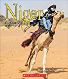 Describes the geography, plants, animals, history, economy, language, sports, arts, religions, culture, and people of Niger.