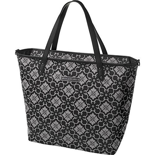 Petunia Pickle Bottom Downtown Tote in London Mist by Petunia Pickle Bottom