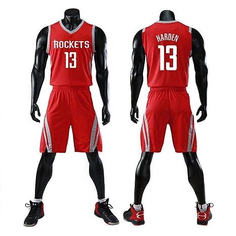CCKWX Houston Rockets # 13 James Harden Baloncesto Vintage ...