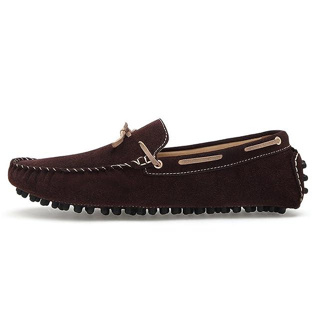 YY-Rui Chaussures Hommes en daim les chaussures plates Slip-on Loafers  Mocassin Homme: Amazon.fr: Chaussures et Sacs
