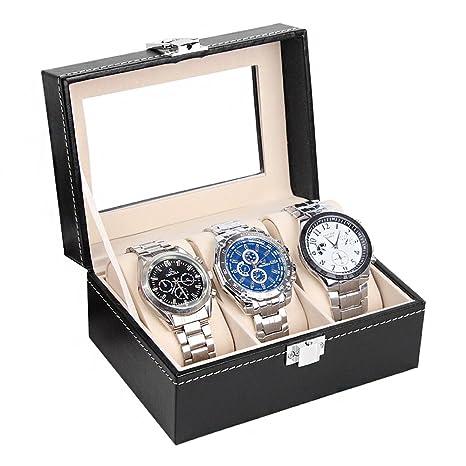 Caja de almacenamiento para 3 relojes