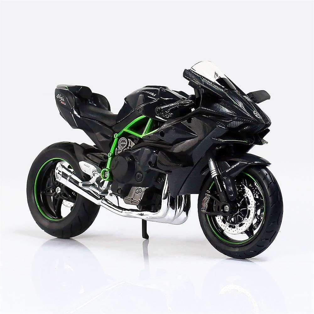 Amazon.com: Greensun 1:12 Kawasaki H2R Metal Diecast Mini ...