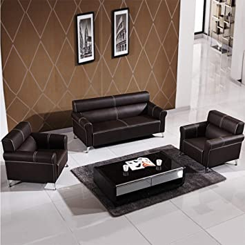 Amazon.com: MIKEWEI Office Sofa Combination Modern ...