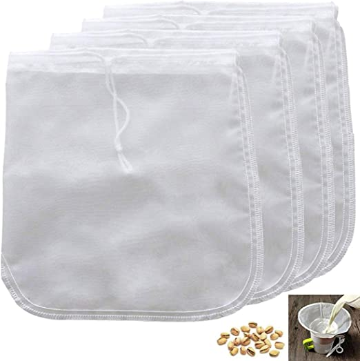 Food Special Colander Nut Milk Bag Coffee Filter Nylon Fine Mesh Cheesecloth